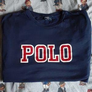 Vintage Polo Ralph Lauren 'Spellout' Tee L